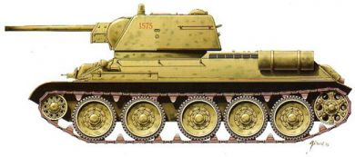 Armourfast Military 1/72 T34/76 Mod. 1943 Tank (2) Kit