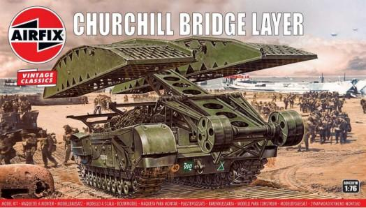 Airfix Military 1/76 Churchill Bridgelayer Vehicle Kit