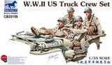 Bronco Military 1/35 WWII US Truck Crew Set (4) Kit