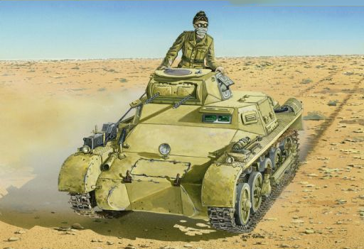 Dragon Military 1/35 PzKpfw I Ausf A Early Tank Kit