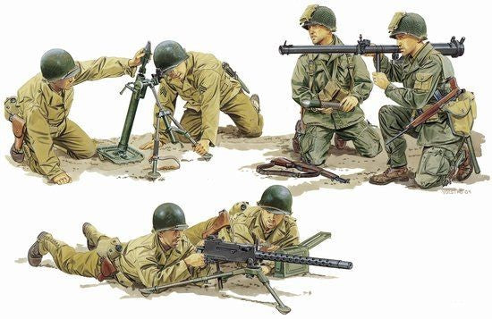 Dragon Military 1/35 US Army Support Weapon Team (6) Kit