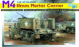 Dragon 1/35 M4 81mm Mortar Carrier (Re-Issue) Kit