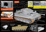 Dragon Military 1/35 Pz.Kpfw.VI Ausf.E Tiger I Mid Production Remote Controller mit Borgward Ausf.A Heavy Demolition Vehicle s.Pz.Abt.508, C Company Kit