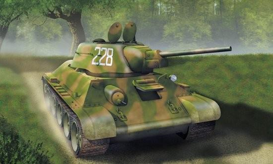 Dragon Military 1/72 T34/76 Mod. 1942 Cast Turret Tank Kit