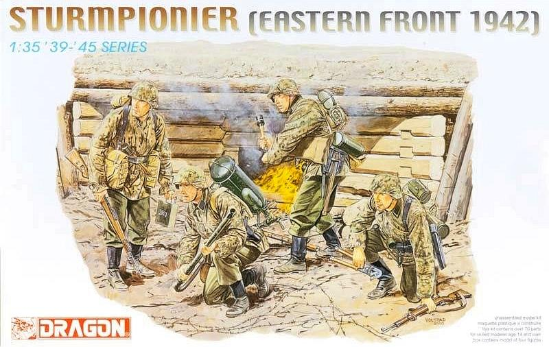 Dragon Military 1/35 Sturmpionier Eastern Front 1942 (4) Kit