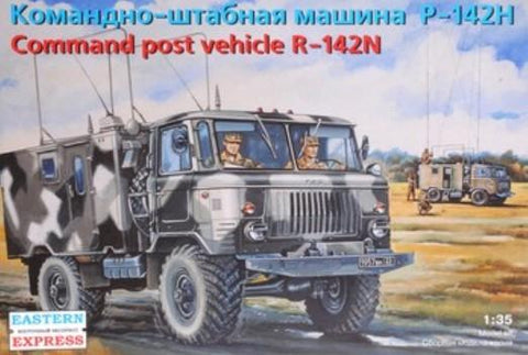 Eastern Express Military 1/35 R142N Russian Command Post Vehicle Kit