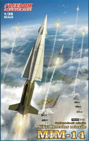 Freedom Military 1/35 Nike Hercules MIM14 Surface-to-Air Missile (New Tool) Kit