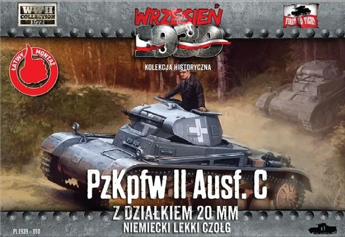 First To Fight 1/72 PzKpfw II Ausf C German Light Tank Kit