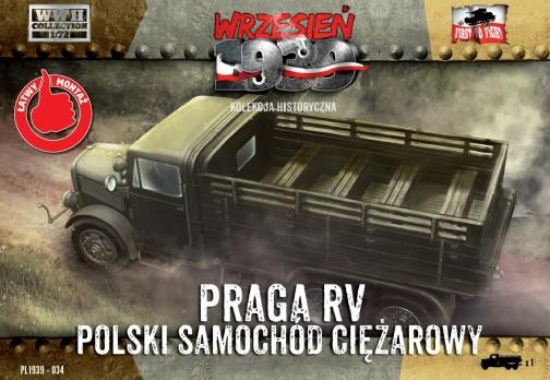 First To Fight 1/72 WWII Praga RV Troop Transporter in Polish Service Kit