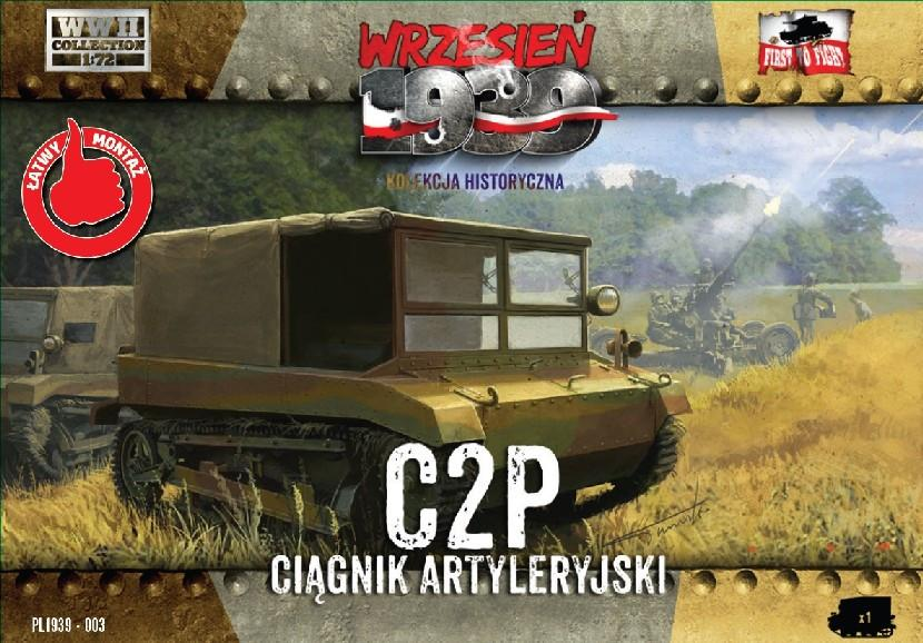 First To Fight 1/72 C2P Polish Light Artillery Tractor Kit
