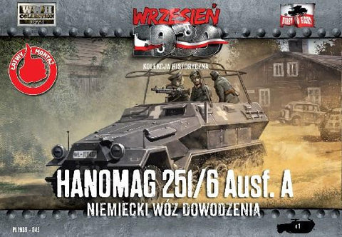 First To Fight 1/72 WWII Hanomag 251/6 Ausf A Halftrack Kit