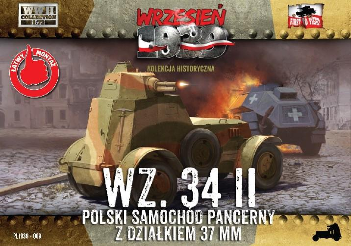First To Fight 1/72 WZ34/II Polish Armored Car Kit