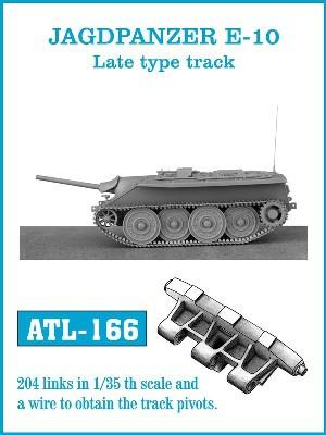 Friulmodel Military 1/35 Jagdpanzer E10 Late Track Set (204 Links)