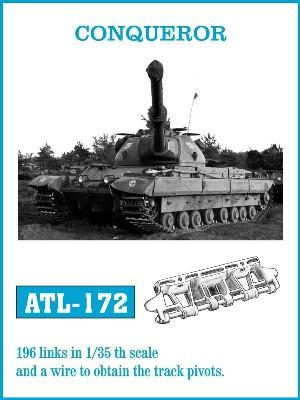 Friulmodel Military 1/35 Conqueror Track Set (196 Links)