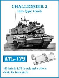 Friulmodel Military 1/35 Challenger II Late Type Track Set (160 Links)