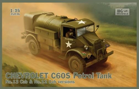 IBG Military 1/35 Marmon-Herrington Mk II Middle East Type Vehicle Kit