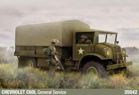IBG Military Models 1/35 Chevrolet C60L General Service Truck Kit