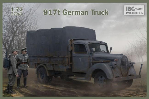 IBG Military Models 1/72 917t German Truck Kit