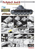 Cyber-Hobby 1/35 PzKpfw II Ausf B Observation Tower Tank Ltd. Edition Kit