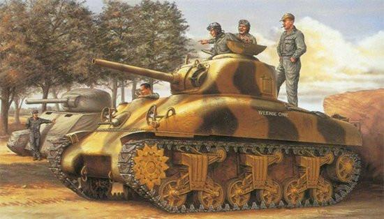 Dragon Military 1/35 M4A1 75mm Early Version Tank Kit