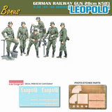 Dragon 1/35 28cm K5(E) Leopold German Railway Gun (Re-issue) Kit