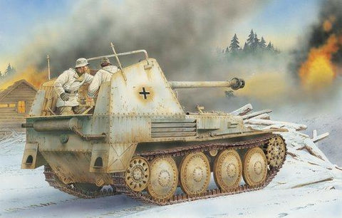 Dragon Military Models 1/35 SdKfz 138 Marder III Ausf M Initial Prod Tank (Re-Issue) Smart Kit