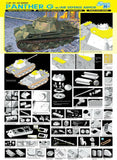 Dragon Military 1/35 Panther Ausf G Late Production Tank w/Add-On Anti-Aircraft Armor Kit
