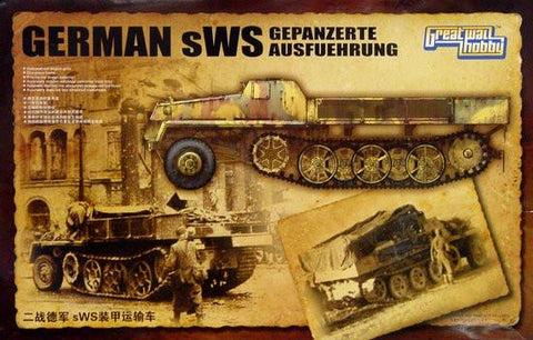 Lion Roar Military 1/35 German sWS Gepanzerte Ausf Halftrack Kit
