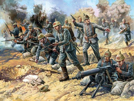 Zvezda 1/72 German Infantry 1914-18 (41) Figure Kit