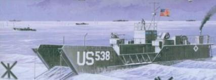 Mach-2 Military 1/72 WWII LCT6 USN Landing Craft Kit