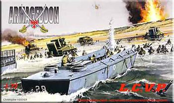 Mach-2 Military 1/72 LCVP Landing Craft Kit