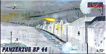 Mach-2 Military 1/72 Panzerzug BP44 Military Railway Convoy Kit