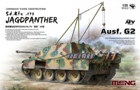 Meng Military 1/35 SdKfz 173 Jagdpanther Ausf G2 German Tank Destroyer Kit