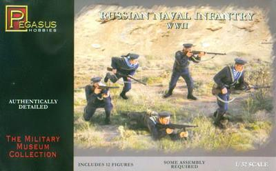 Pegasus Military 1/32 Russian Naval Infantry WWII (12)