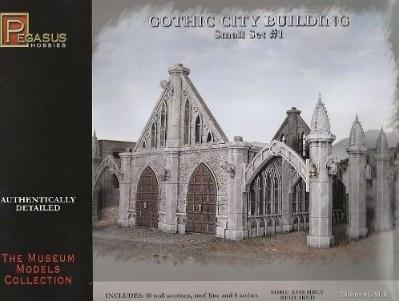 Pegasus Military 28mm Gothic City Building Small Set #1