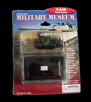 Pegasus Military 1/144 T54B Mod 1952 N. Korean Tank (Assembled)