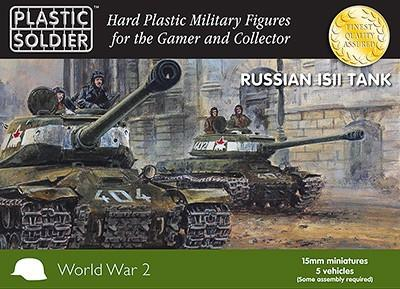 Plastic Soldier 15mm WWII Russian IS2 Tank (5) Kit