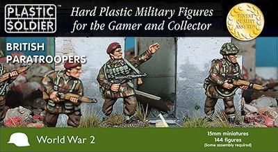 Plastic Soldier 15mm WWII British Paratroopers (144) Kit