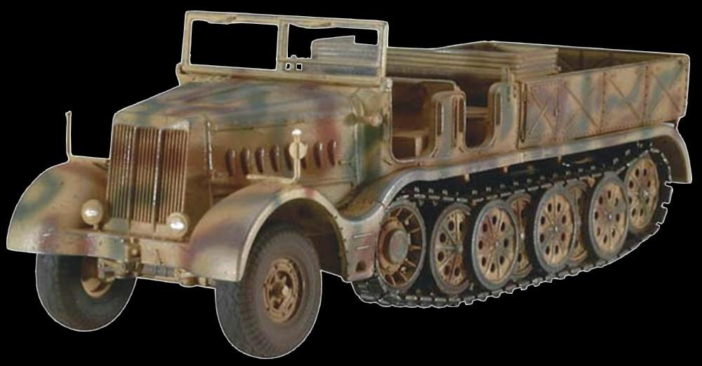 Revell Germany 1/72 SdKfz 9 18-Ton FAMO WWII Heavy Recovery Vehicle Kit