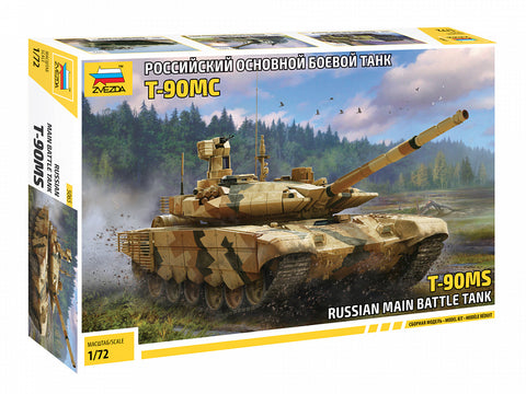 Zvezda 1/72 Russian T90MS Main Battle Tank (New Tool) Kit