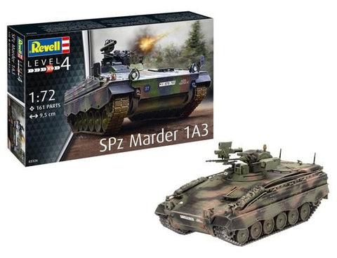 Revell Germany Military 1/72 SPz Marder 1A3 Tank Kit