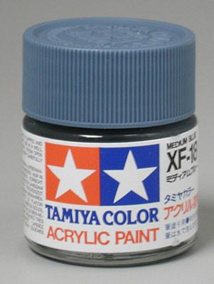 Tamiya Acrylic XF18 Medium Blue 23 ml Bottle