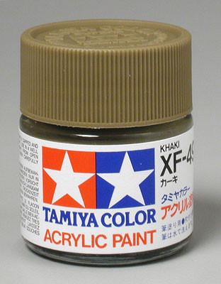 Tamiya Acrylic XF49 Khaki 23 ml Bottle