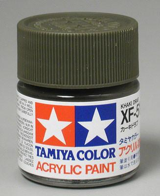Tamiya Acrylic XF51 Khaki Drab 23 ml Bottle
