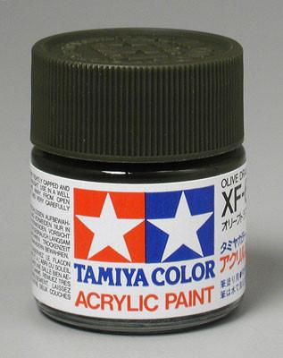 Tamiya Acrylic XF62 Olive Drab 23 ml Bottle