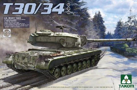 Takom 1/35 US T30/34 Heavy Tank Kit