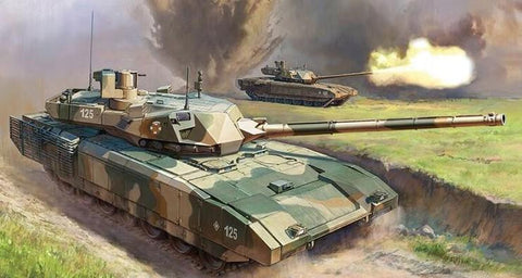 Zvezda 1/72 Russian T14 Armata Main Battle Tank Kit