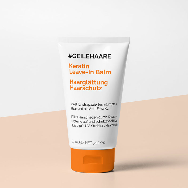 Keratin Leave-In Balm - #GEILEHAARE