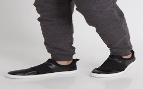 Black sneakers for men - Dream Chaser Wear Sneakers