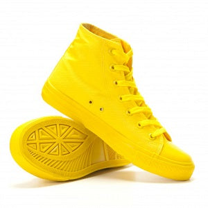 Men's Yellow sneakers for the absolute dapper look